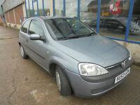 Vauxhall Corsa 1.2i 16v Club 3 DOOR - 2003 53-REG - 2 MONTHS MOT