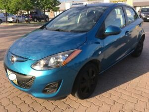 2012 Mazda Mazda2 GX Hatchback-Safetied ONLY 50,600 KM