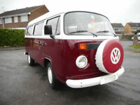 VW T2 Danbury Rio 2003 classic retro low mileage campervan Royal Wootton Bassett