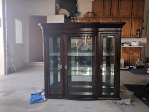 Hutch, China cabinet. Best offer.