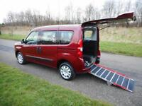 2013 Fiat Doblo 1.4 *ONLY 8K* Wheelchair Accessible Disabled Adapted Vehicle WAV