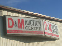 We Buy & Sell Daily Drop into D&M Auction Centre..