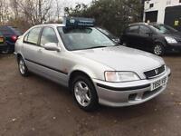 1999 Honda Civic 1.4 Sport ** 24k MILES ** 10 Months Mot Ltd Edn Petrol
