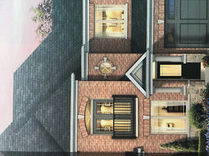 3 Bed 3 Bath Brandnew House in Trendy Sharaon? Queensville
