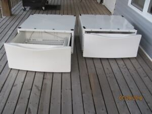 Whirpoll Laundry Pedestals Model LAB2700MQ1 &2  $75.00. OBO