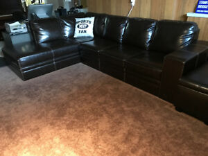 L Shape Couch and centre table for sale