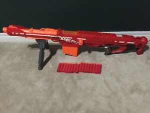 8 of 11 GIANT Nerf Gun N-Strike Elite Mega Centurion Mega Darts Quality  Durability Load