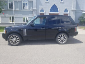 2008 Range Rover SUV Supercharged Fully loaded!