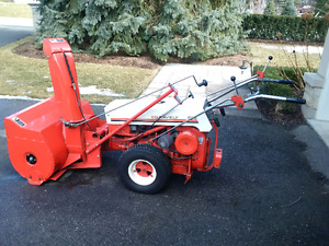 Gravely Commercial 566 Tractor and Attachments