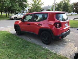 Jeep renegade sport  2015   10 000 km