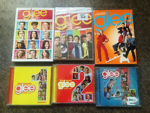 Glee dvd & music cd's collection