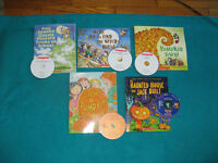 Primary Reading with CDs Pumpkin Theme