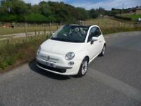 2012 Fiat 500 1.2 Lounge 2dr [Start Stop] 2 door Convertible