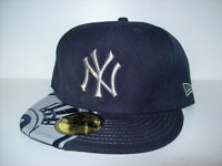 NEW ERA : 7 3/8 : 7 1/2 : NEW YORK YANKEES  FITTED CAP CASQUETTE City of Montréal Greater Montréal Preview
