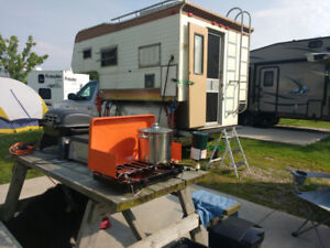 Hunter Alert - 8' Truck Camper with Heat - Ready to go!
