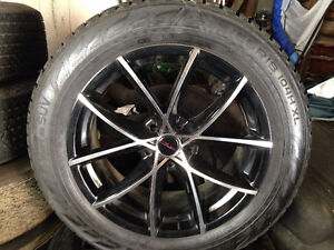 "18"" All weather tires & rims fit/replace Ford Taurus 19"" option"