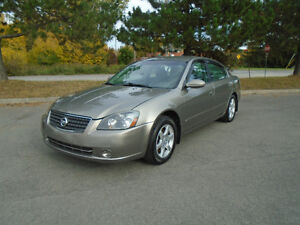2005 Nissan Altima Sedan 2.5 S EXTRA, *** LOW KM ***