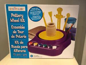 Creatology Pottery Wheel Kit New