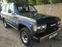 1989 G Toyota Land Cruiser 4.0 DIESEL 1 OWNER FROM NEW 98k MINT CONDITION P/X
