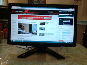 "Acer, LG, BenQ, Viewsonic 19"" Wide screen Lcd monitors"
