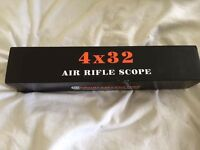Air rifle scope