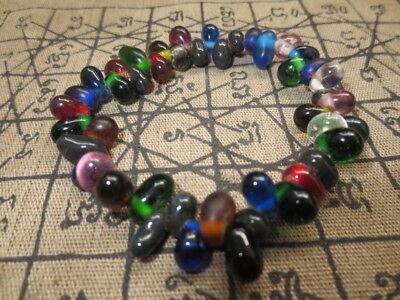 So Rare Blessed Original Manee Tai Nam Bracelet Top Magic Thai Buddha Amulets