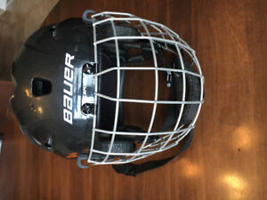Bauer lil sport helmet with cage