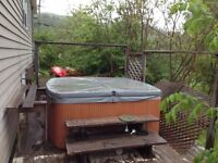 Hot tub new new price need gone before snow