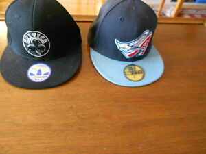 Boston Celtics, Los Angles Angels,  Ottawa  Senators, Doors caps