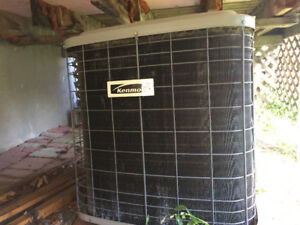 Kenmore central air conditioner unit only condenser evaporator