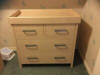 Mamas and Papas Changing Unit Pine