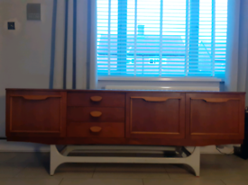Mid-Century Afromosia and Teak Sideboard from G-Plan, 1960s