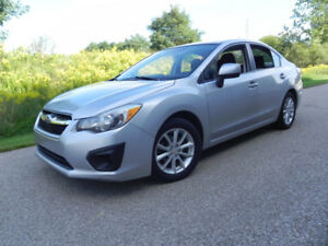 2012 Subaru Impreza AWD one owner mint