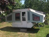 Hard Top Tent Trailer for sale.  Asking $750 OBO.  Perhaps of in