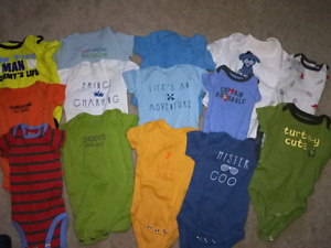 BABY BOY CLOTHING - SZ 0-6 MTH!!