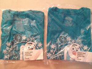 Frozen kids tshirts L and XL $5 each