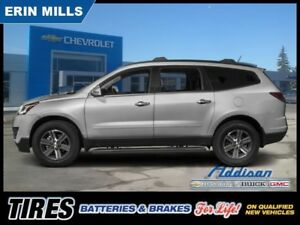 2017 Chevrolet Traverse 2LT  AWD Leather Sunroof Navi 7 Pass