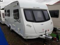 2013 Lunar Ultima 524 4 Berth Side Dinette End Washroom Caravan