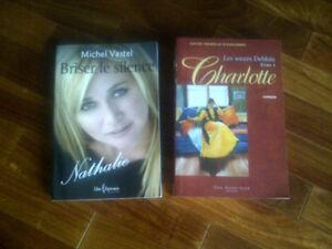 BRISER LE SILENCE NATHALIE + CHARLOTTE, 2 LIVRES NEUFS