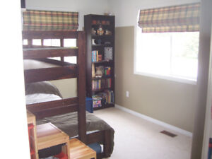 Bunk Bed Frame - Twin over Double