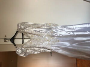 Size 14 Wedding dress and veil