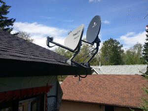 Satellite TV and Internet