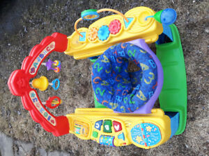 Exerciseur soucoupe Fisher Price