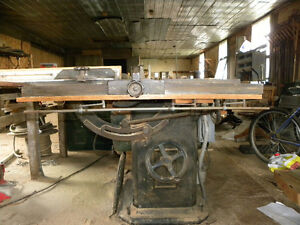 Johnson and Cochrane Patternmaker's Tablesaw