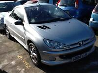 Peugeot 206 1.6 ( a/c ) 2003MY Coupe Cabriolet S