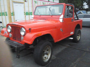 1978 Jeep CJ Cabriolet