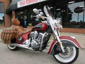 2015 Indian Motorcycle Chief Vintage Indian Red / Thunder Black