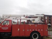 Utility bucket truck for sale