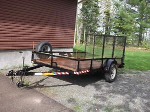 "Utility Trailer 6' x 10' 6"" licenced and inspected for 2018"