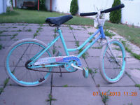 """Antique Huffy """"Color Waves"""" 20"""" bike,good condition,smoke free"""